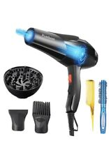 PluieSoleil 3000W Professional Hair Dryer with 2 Speeds and 3 Heats Setting
