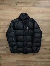 Vintage Stussy Puffer Jacket Size LARGE L Bubble Goose Down Black