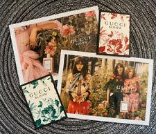 Dakota Johnson - Promo Cards Gucci Bloom | Aqua Di Fiori