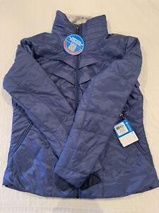 Columbia Women's Kaleidaslope II Jacket, XL, Bluebell, Omni-Heat WL4045-508 NEW