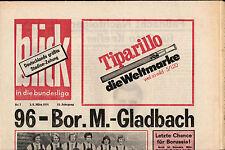 BL 73/74 Hannover 96 - Borussia Mönchengladbach, 01.03.1974, blick