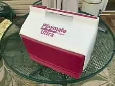 New listing Playmate Ultra Cooler By Igloo Red/White