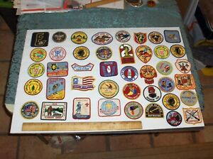 Vintage Massive (42) Item Mixed Boy Scouts Patch and Blazer Badge Lot