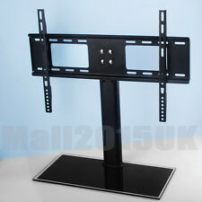 """Table Top Replacement TV Pedestal Stand Base fits 37""""-55"""" For LED LCD Plasma"""