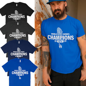 Los Angeles World Series Champions Dodgers LA 2020 Adults & Kids Unisex T-Shirt