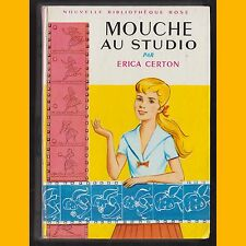 Collection Bibliothèque Rose MOUCHE AU STUDIO Erica Certon 1966