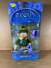 New 2002 Foreman Elf Christmas Figure from Rudolph and the Island of Misfit Toys