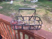 Vintage Milk Bottle Carrier 8 Quart Bottle Capacity Massachusetts Barn Find