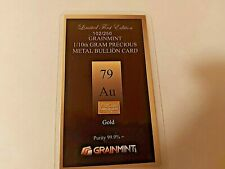 More details for 1/10 th gram 24 karat  gold bar with free shipping