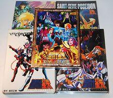 SAINT SEIYA KNIGHTS OF THE ZODIAC DVD BOXSET BUNDLE  16 DISCS 5 BOXSETS MANGA