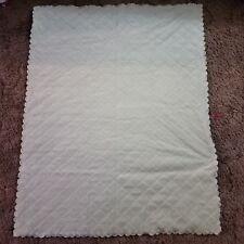 Mon Lapin Baby Blanket Green Cream soft