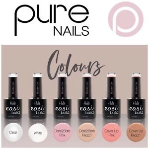 Halo EASI Build Brush on Builder Gel - UV LED - ALL COLOURS  (Pure Nails)
