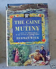 1951 Book The Caine Mutiny by Herman Wouk WWII Novel