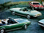 1968 Chevy Camaro Ss 396 Pontiac Firebird Original Ad Z28doorhoodsticker
