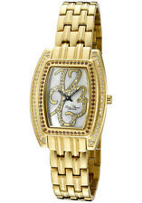 LUCIEN PICCARD MONACO DIAMOND ACCENTED WOMEN'S WATCH LP-26914YL NEW MSRP $1895
