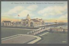 Postcard VENTNOR CITY New Jersey/NJ Municipal Pier & Boardwalk 1930's