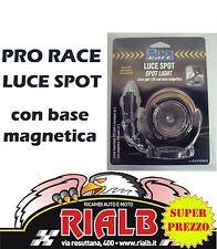 Faro Magnetico 12V Cable mt.3 PRO RACE SPOT LIGHT c/base magnetica Eurasia 11757