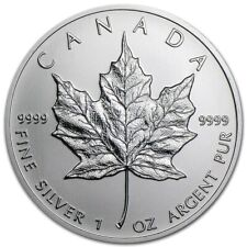 2013 Canada $5 Silver Maple Leaf .9999 pure