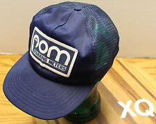 RARE POM PARKING METERS PARK-O-METER HAT DARK BLUE SNAPBACK GOOD CONDITION