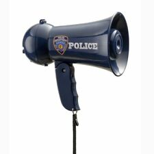 Pretend Role Play Police Officer Child Megaphone with Siren Sound