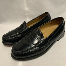Cole Haan Black Leather Penny Pinch Loafers Mens Size 6 D