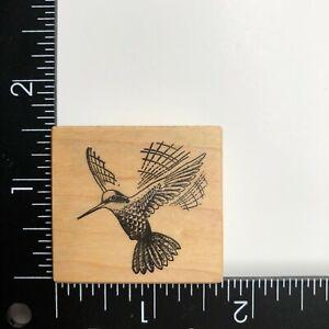 PSX Designs Hummingbird Wood Mounted Rubber Stamp C166