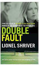 Double Fault, Shriver, Lionel,  Book