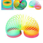 Colorful Rainbow Plastic Magic Spring Slinky Bouncy Children Development Toy