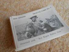 ROY ROGERS BUBBLEGUM Cards 1955 South of Caliente - TIMES CONFECTIONERY COMPLETE