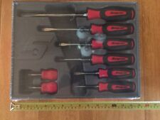 Snap On Screwdriver Set. New 8 Pc Red Set