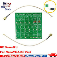 RF Demo Kit For NanoVNA VNA RF Test board Vector Network Test Filter Attenuator