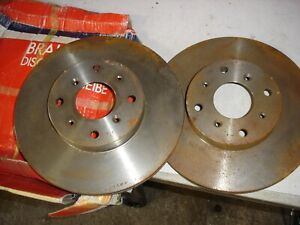rover 800 front brake discs Unipart GBD800 285mm vented
