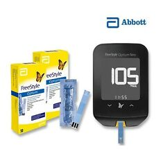 Optium Neo Blood Glucose & Ketones Monitor/Meter Freestyle & 50 Test Strips