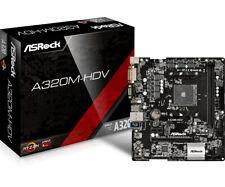 Asrock AMD A320 AM4 Ryzen Micro ATX DDR4-SDRAM Motherboard
