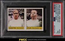 1968 Sicker-Verlag Manchester United Bobby Charlton Nobby Stiles #445 PSA 7 NRMT