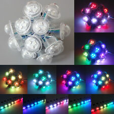 100pcs SMD 5050 D26 RGB WS2811 26mm Full Color 3-LED Pixels LED Point Light 12V