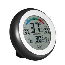 Electrónica Termometro Higrometro Humedad Reloj de temperatura interior al aire libre