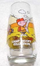 """Vintage McDonalds """"CAMP SNOOPY COLLECTION"""" SNOOPY Drink Glass"""