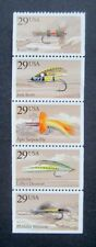 Sc # 2545-2549 ~ Booklet Pane ~ 29 cent Fishing Flies Issue (cg17)