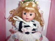 """8"""" BEAUTIFUL HEIDI DOLL BY SUSAN WAKEEN WITH LOVE PERFECT IN BOX"""