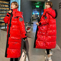 Women Winter Coat Down Jacket Ladies Hooded Jackets Long Puffer Parka Warm COAT