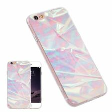 Light Pink Marble Pattern Fashion TPU Phone Case Cover for iPhone Samsung Huawei