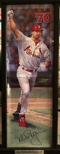 "Mark McGwire ""The Triumph Of 70"" 4 Plate Collection By Bradford Exchange"