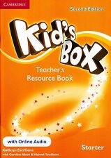 Cambridge KID'S BOX STARTER Teacher Resource Book +Online Audio 2ND EDITION @NEW