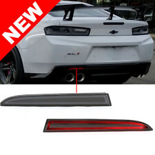 2016+ Chevrolet Camaro Diffuser Rear Reflector Bumper LED Lights - Red LED
