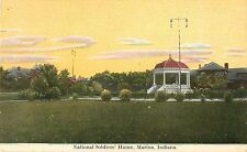 1910 National Soldiers Home, Marion, Indiana Postcard