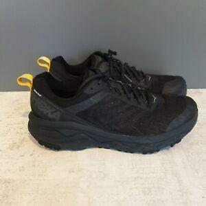 Hoka One One Black Gore-Tex Challenger ATR 5 Men's Running shoe. UK size 10