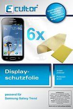 6x Samsung Galaxy Trend Film de protection d'écran protecteur cristal clair