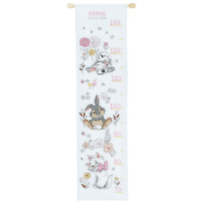 Disney 'Babies' Height Chart Counted Cross Stitch Kit