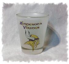 Minnesota Vikings Frosted Shot Glass